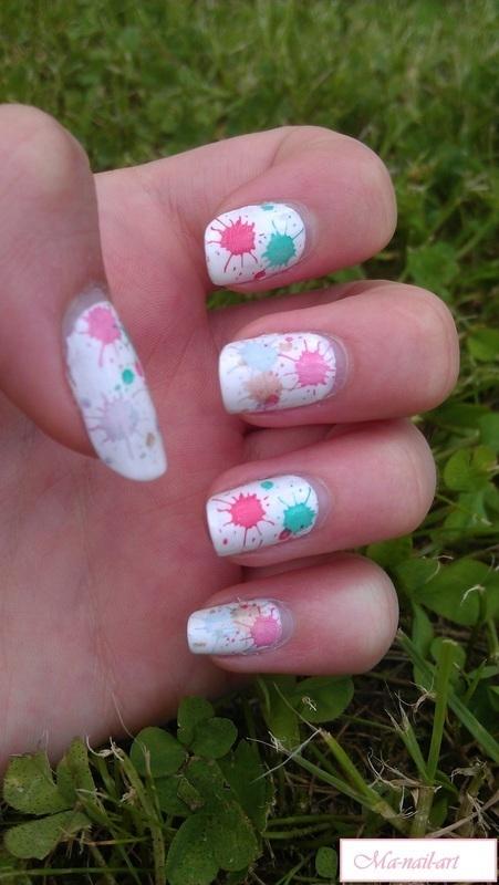 What's the colour? nail art by Maeva Lukec