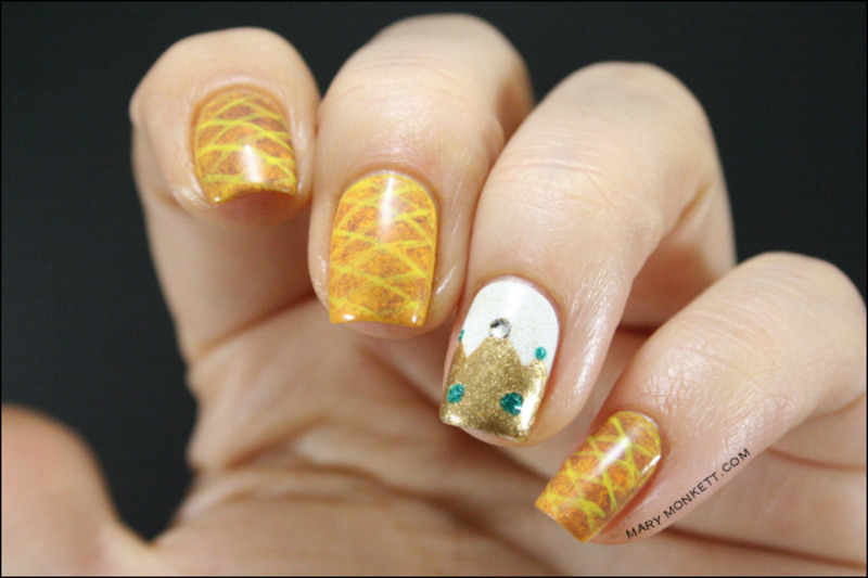 Epiphanie nail art by Mary Monkett