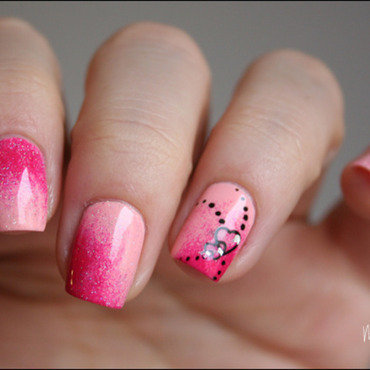 Love nail art by Mary Monkett