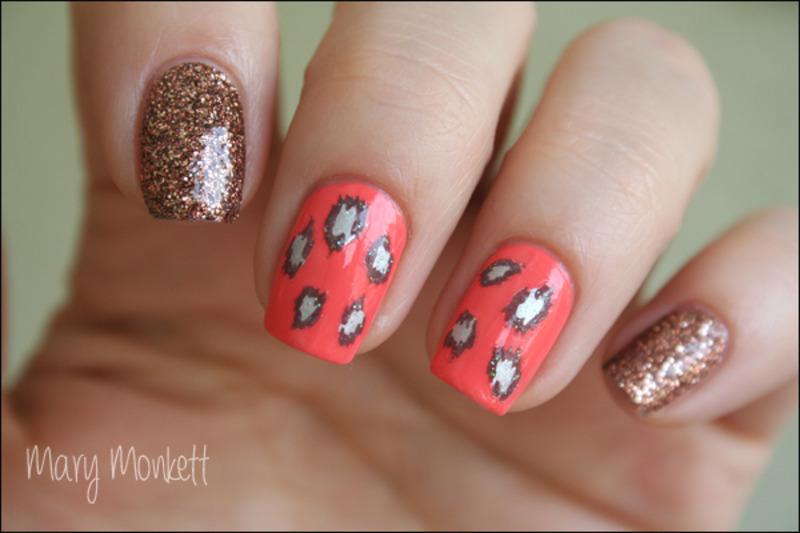 RRRrrr nail art by Mary Monkett