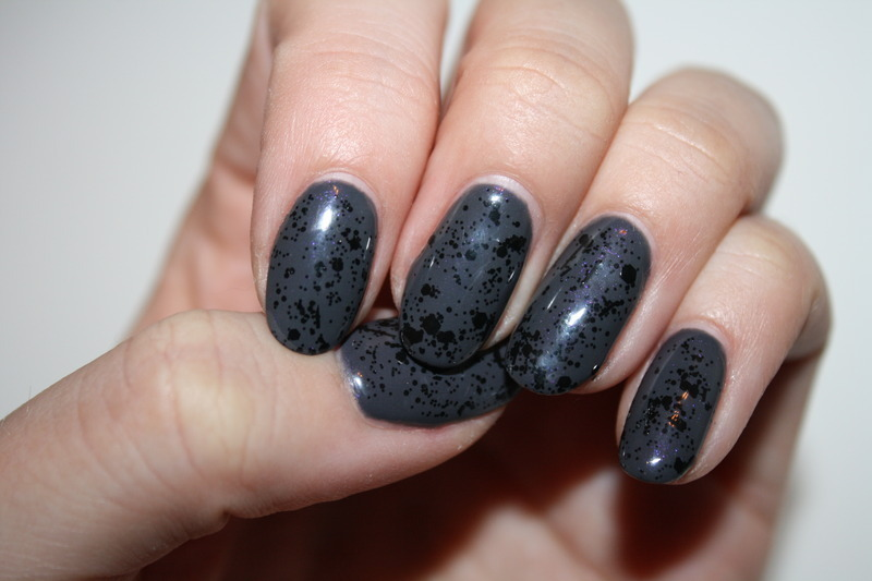Splatter Me  nail art by Laurelle Alexandra