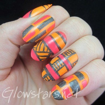Love is meant to be forever nail art by Vic 'Glowstars' Pires