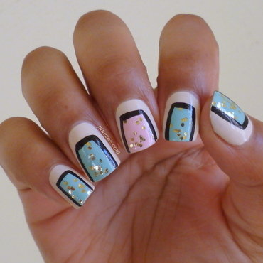 Underground nail art by Pinezoe