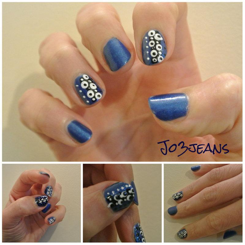 dotting tool inspi nail art by Jo3jeans