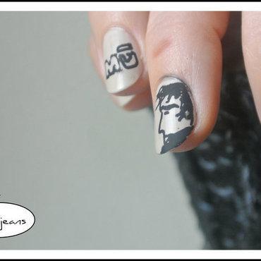 BD nails Corto Maltese nail art by Jo3jeans