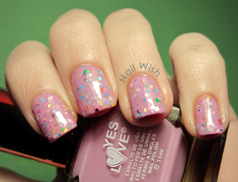 Pink Jelly Sandwich nail art by NailWish