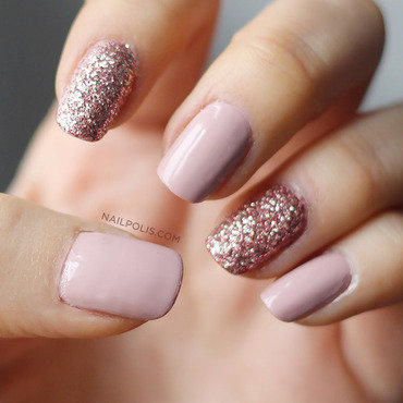 I pink about you all the time nail art by Michelle