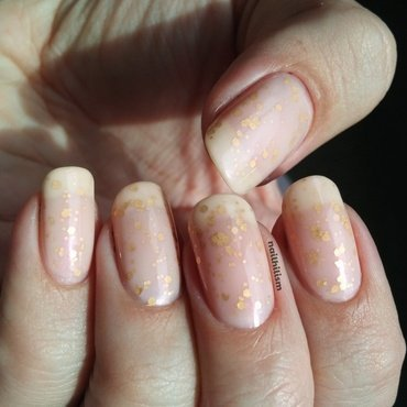 Soft and Sweet nail art by Harriet Lockett
