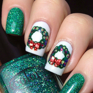 If You Like It Then You Should Have Put A Wreath On It nail art by Nail Polish Wars