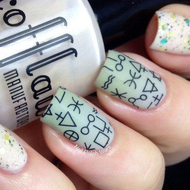 Is there a rune for that? nail art by Nail Polish Wars