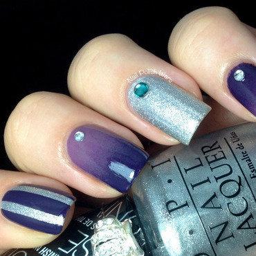 Miss Universe Mish Mash nail art by Nail Polish Wars