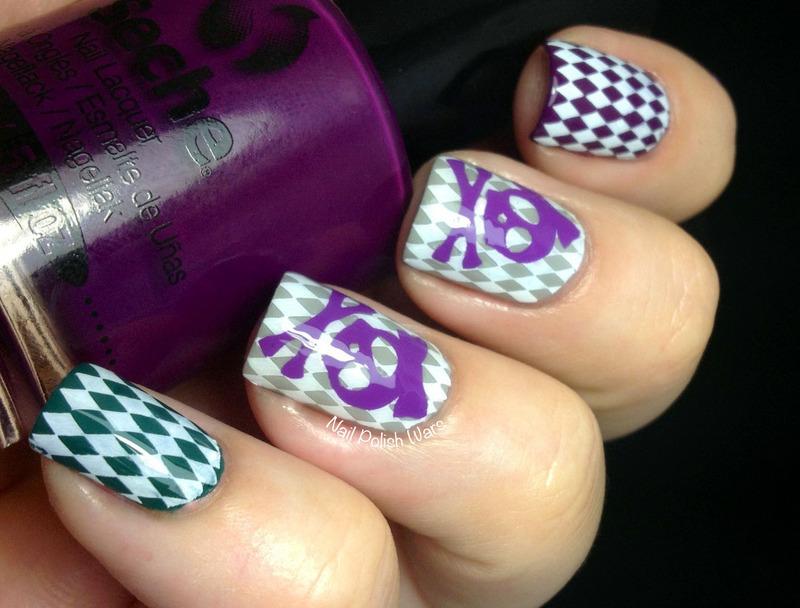 Skullacious  nail art by Nail Polish Wars