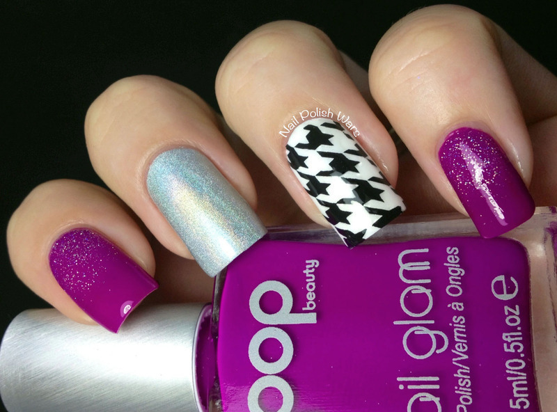 Hounds & Holos nail art by Nail Polish Wars
