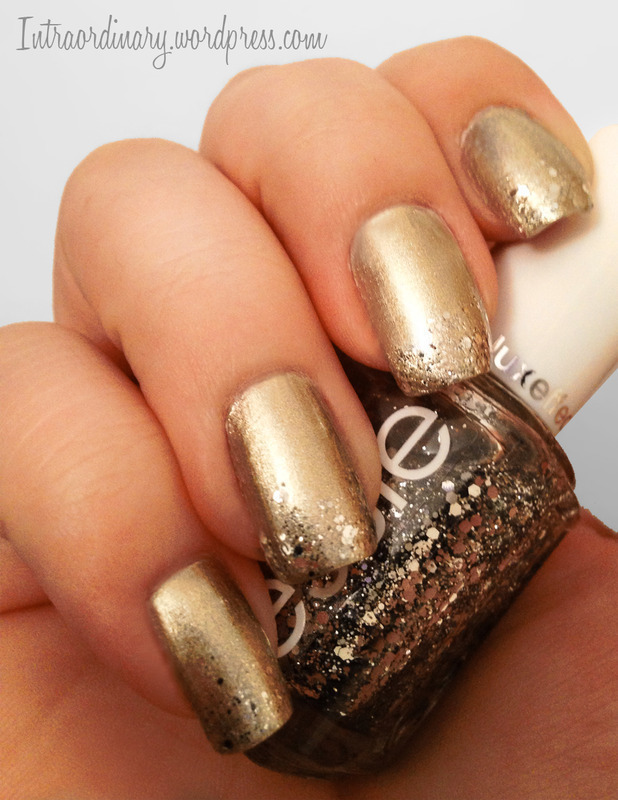 Champagne Nails Nail Art By Katie Nailpolis Museum Of Nail Art