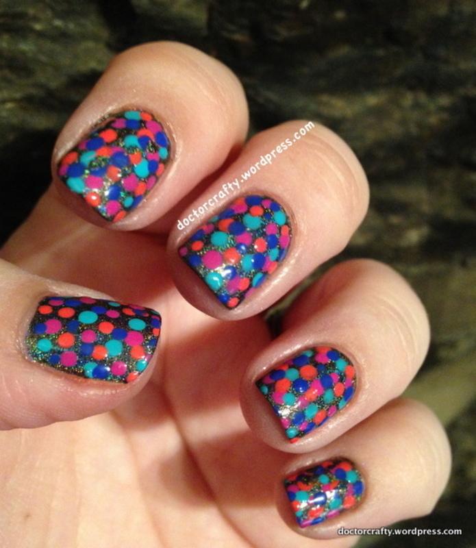 Dotticure nail art by Nicole