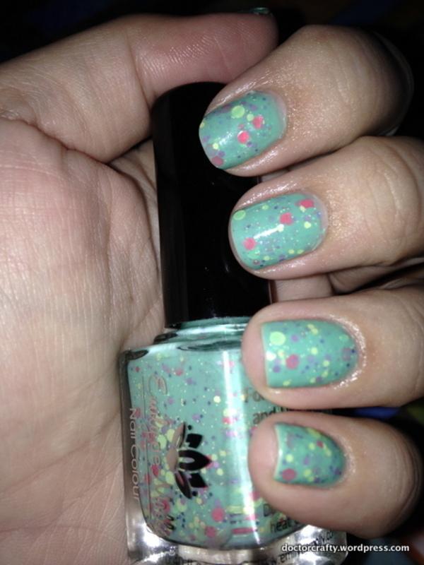 Bo Peep nail art by Nicole