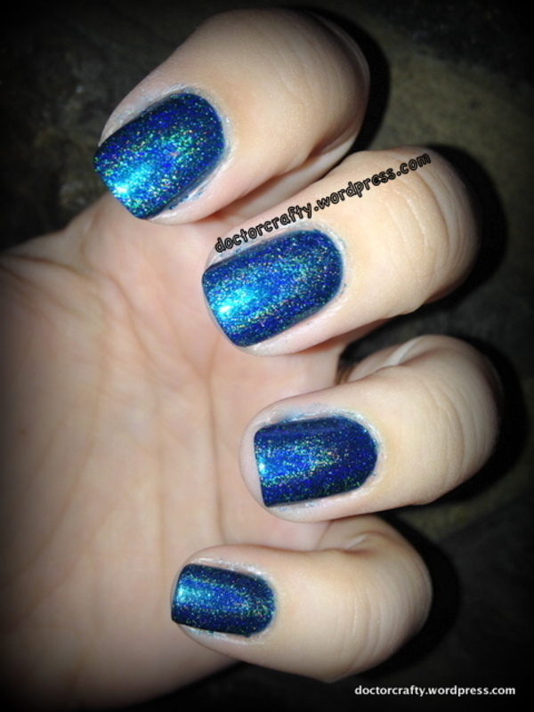 ILNP Admire Me nail art by Nicole