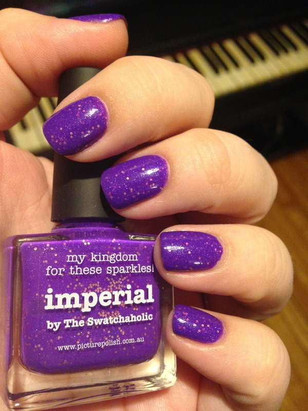 piCture pOlish Imperial nail art by Nicole