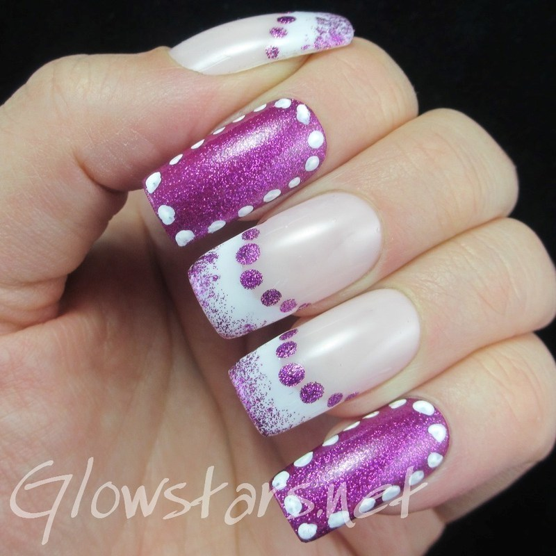 Pink ribbon scars that never forget nail art by Vic 'Glowstars' Pires