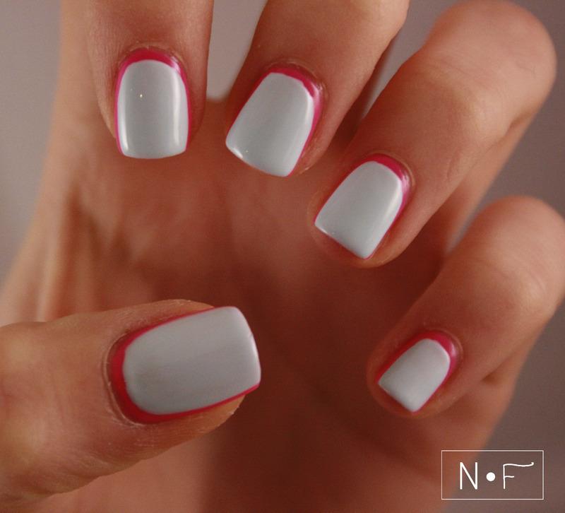 Extreme ruffian nail art by NerdyFleurty