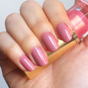 Essie: Eternal Optimist nail art by Michelle