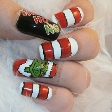 Dr Seuss Nail Art And Swatches Nailpolis Museum Of Nail Art