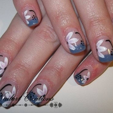 Floral Nailart nail art by Nailart Creations