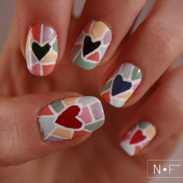 Hearts mosaic thumb370f