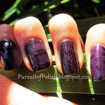 Monotonenails purplesparkle leaves thumb370f