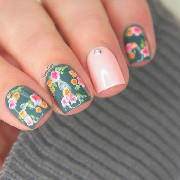 Vintage flower nails 1 thumb370f