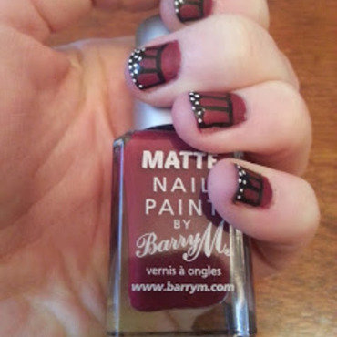 Butterfly Fly Away! nail art by Sarah Clarke