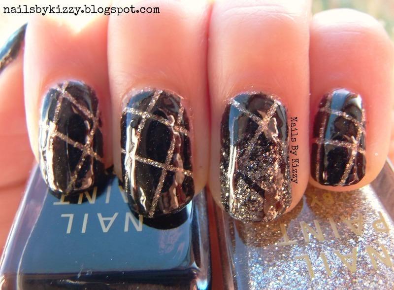 New Year Nails nail art by Kizzy