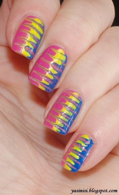 Toothpick manicure ;) nail art by Yasinisi - Nailpolis: Museum of ...