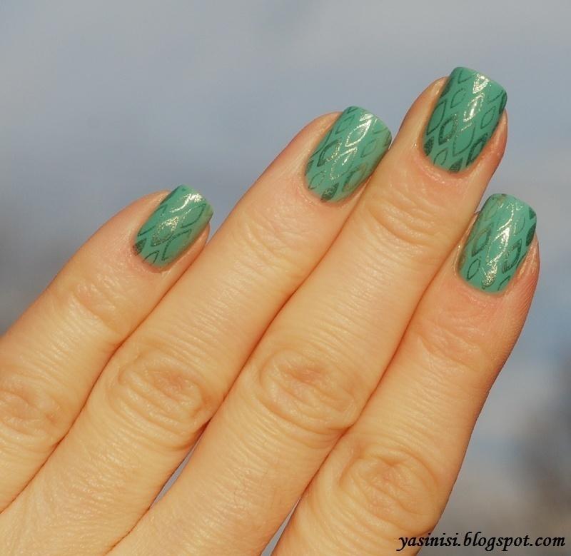 Mash-48 on Kocimiętka nail art by Yasinisi