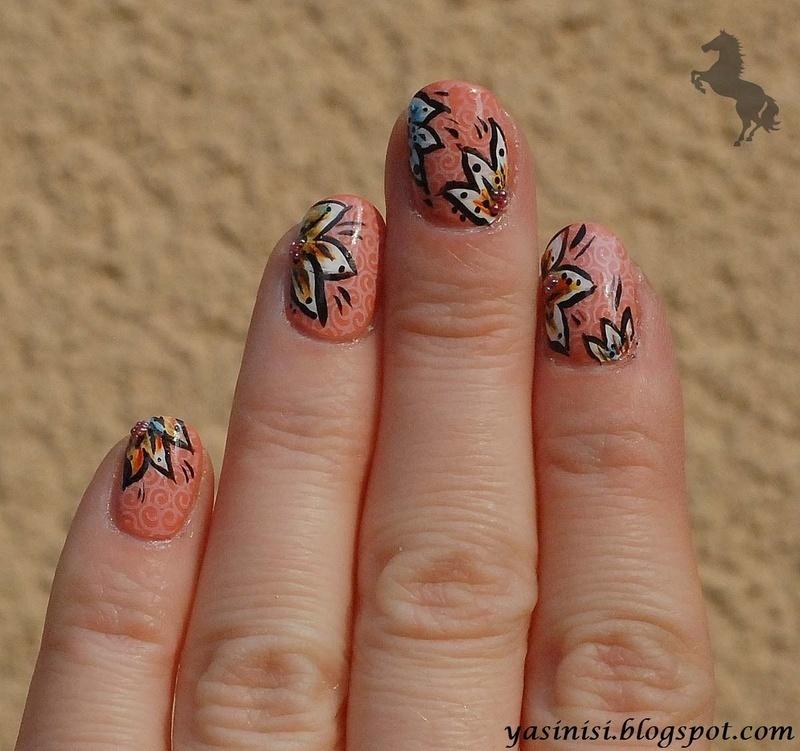 BM nail art by Yasinisi