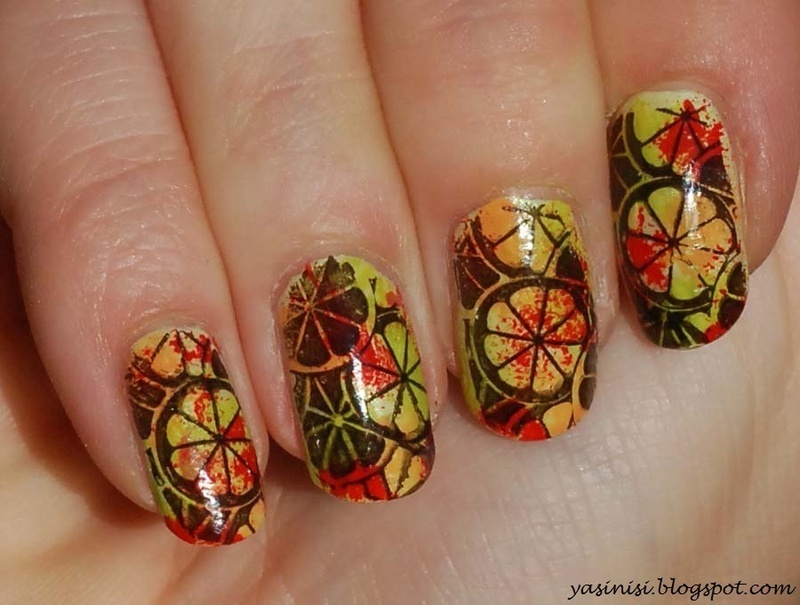 Fruits nail art by Yasinisi