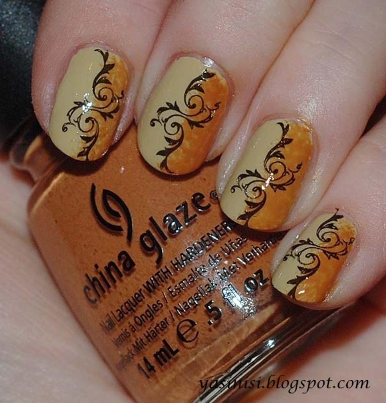 Duo nail art by Yasinisi