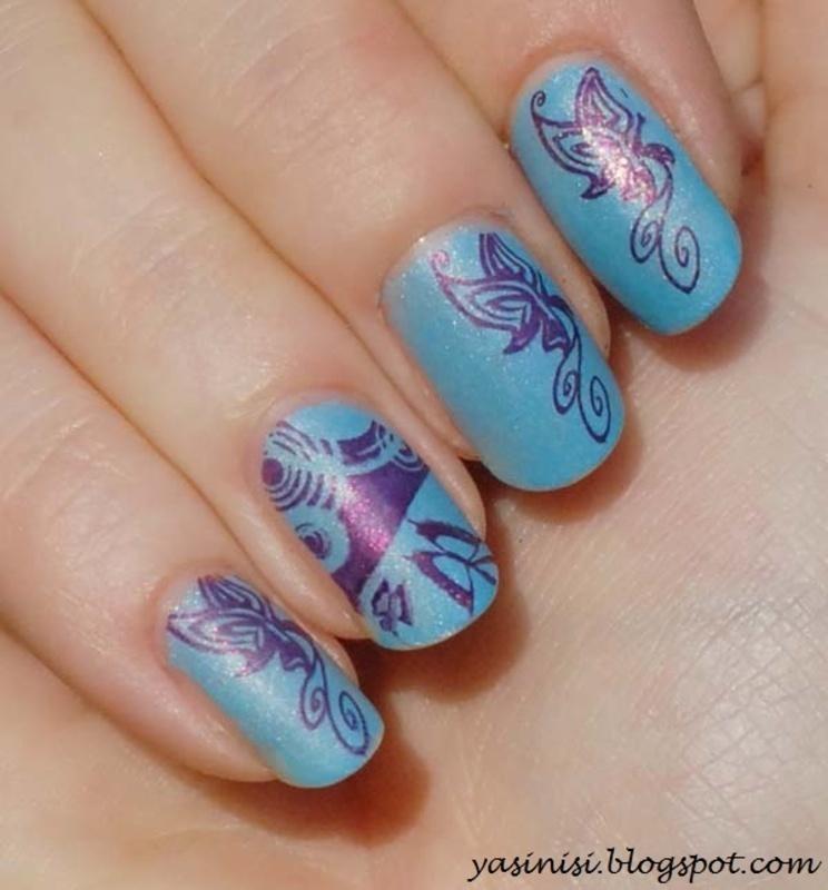 RA nail art by Yasinisi