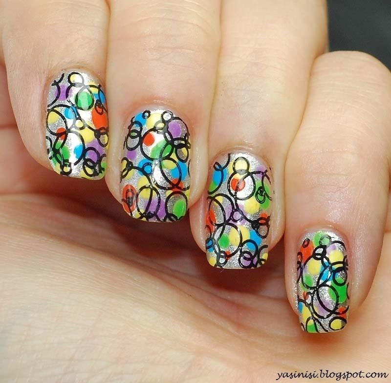 Mash-43 nail art by Yasinisi