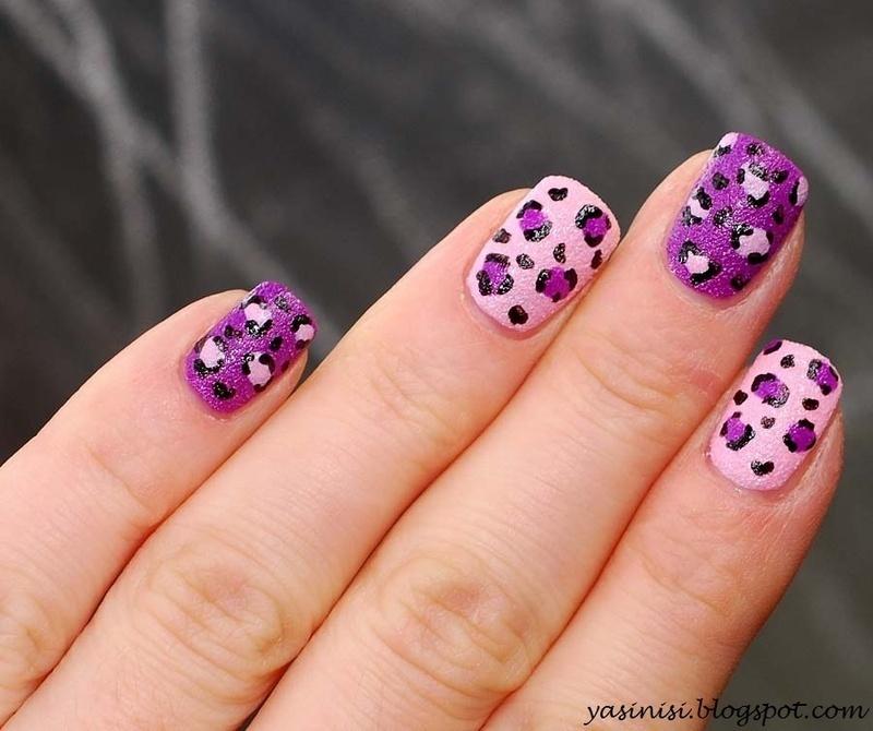 panterka nail art by Yasinisi