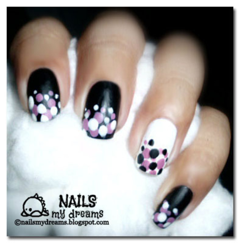 Dotted Nail Art nail art by Kat of NailsMyDreams