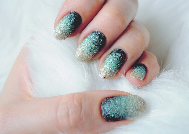 Emerald nail art by Tiffany Blue