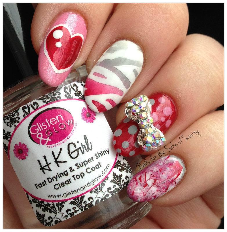 Nails for the Sake of Sanity nail art by Kelly Callahan