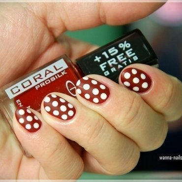 Pin up nails nail art by Oana Chiciu