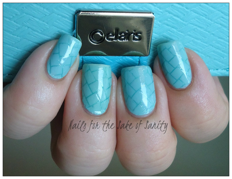 Cellairis Stamping nail art by Kelly Callahan