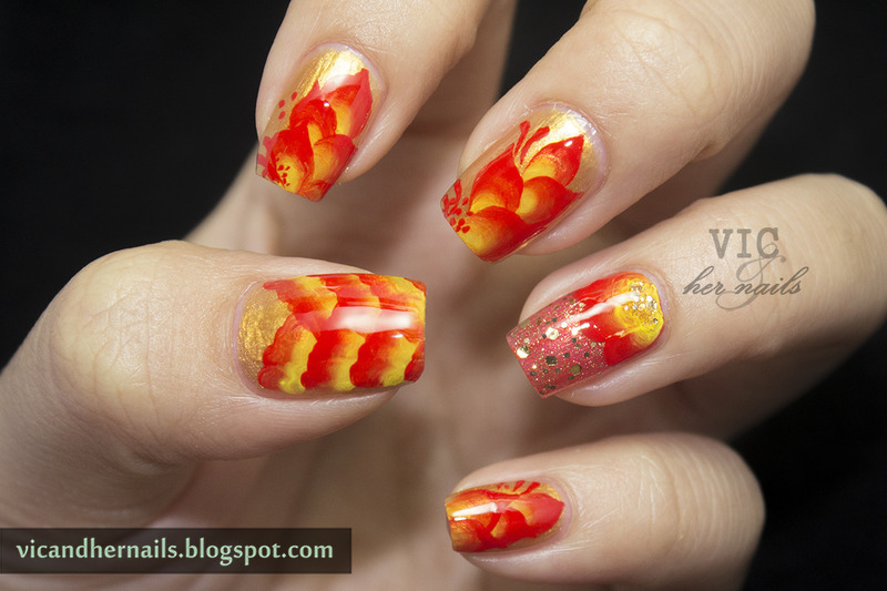 Chinese New Year Nail Art Nail Art By Victoria Oen Nailpolis