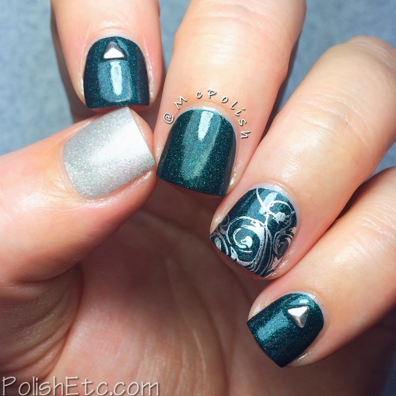 St. George Skittlette nail art by Amy McG