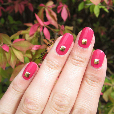 Kate Spade Runway Inspired nail art by Nails & Threads