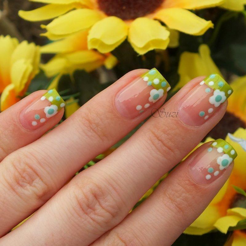 Spring Flowers nail art by Suzi - Beauty by Suzi