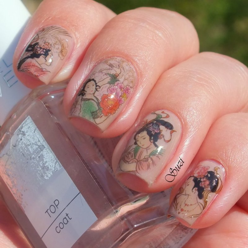 Traditional Chinesse nail art by Suzi - Beauty by Suzi